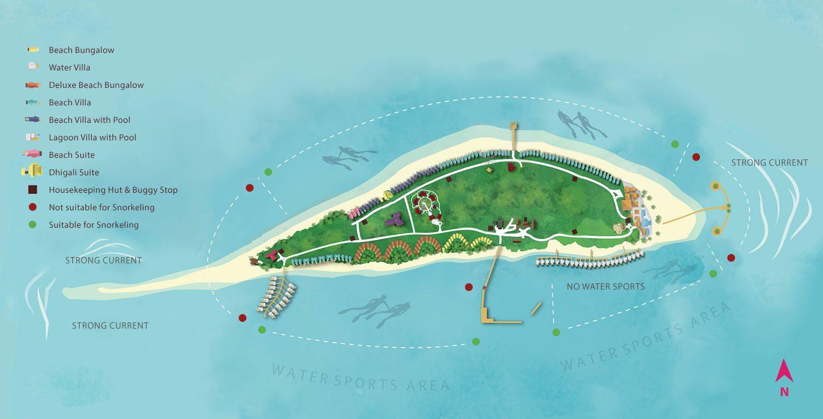 Where Are The Maldive Islands Map