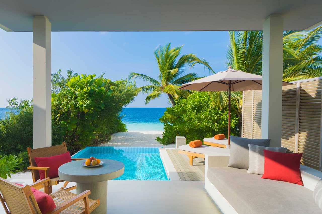 Beach Villas with Pool at Dhigali