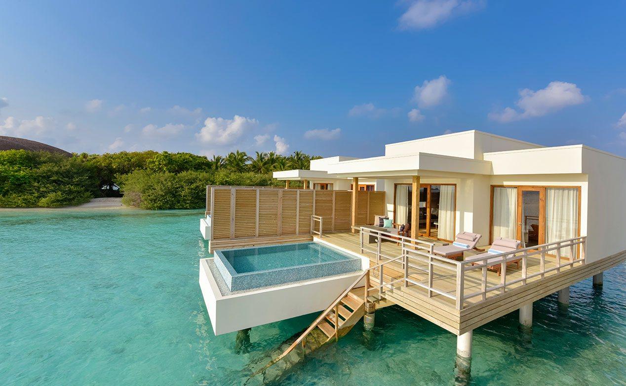 Lagoon Villa Maldives With Pool Lagoon Villas At Dhigali Maldives