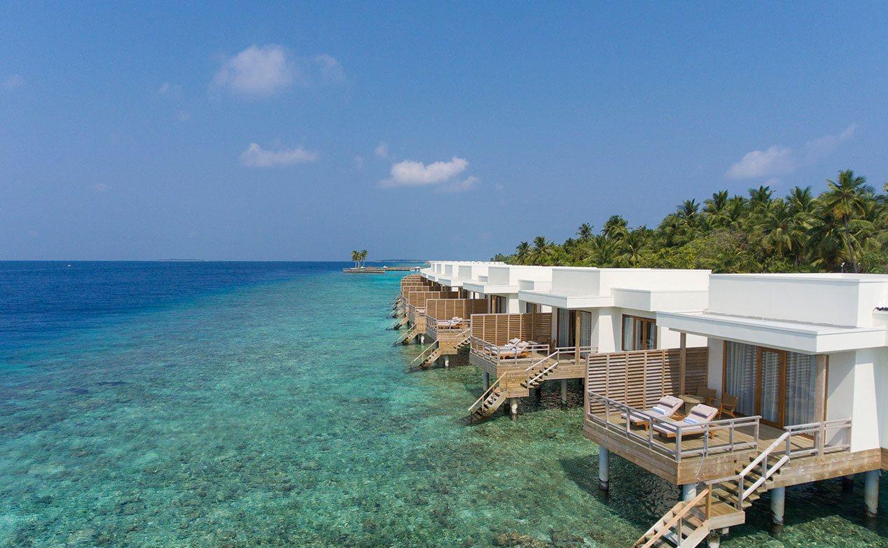 Tropical Island Beach Ambience Sound: Dhigali Resort Maldives